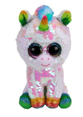 Filippables Pixy Sequin White Unicorn