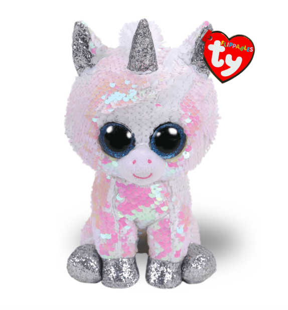 Filippables Pixy Sequin White Unicorn Medium